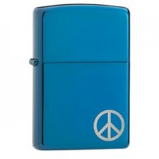 Zippo 20446 PEACE ON THE SIDE