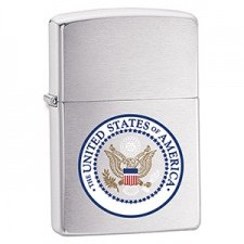 Zippo U.S. SEAL HIGH BRUSHED CHROME