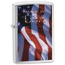Zippo ZIPPO 200 MADE IN USA FLAG