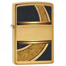 Zippo Gold and Black Design