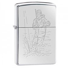 Zippo ZIPPO FISHERMAN AND FISH