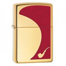 Zippo 254B PIPE LIGHTER RED