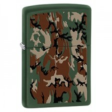 Zippo CAMOUFLAGE GREEN MATTE