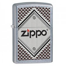 Zippo 207 ZIPPO RED AND CHROME
