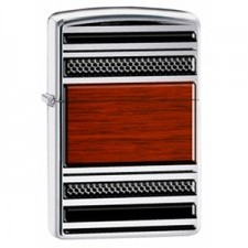 Zippo Steel And Wood