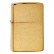 Zippo BR FIN SOLID BRASS